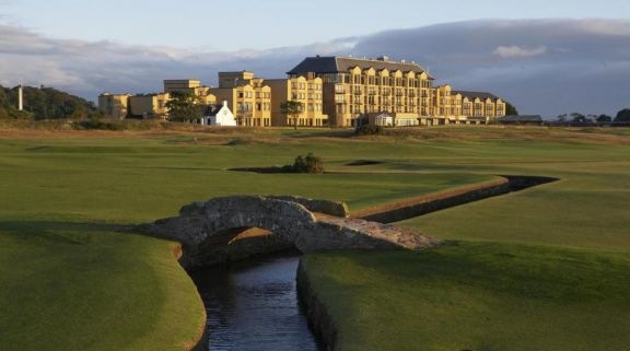 View Old Course Hotel's beautiful hotel situated in marvelous Scotland.