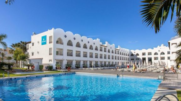 View MAC Hotel Puerto Marina's impressive main pool in dazzling Costa Del Sol.