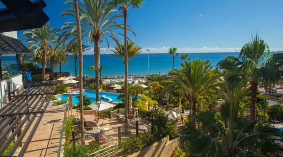 The Corallium Dunamar Hotel's lovely sea view in pleasing Gran Canaria.