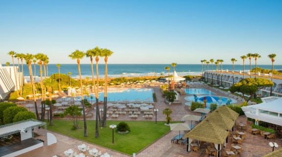 The Iberostar Royal Andalus's beautiful sea view situated in amazing Costa de la Luz.