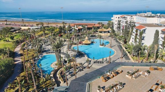 The Hotel Riu Tikida Beach's lovely hotel in sensational Morocco.