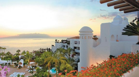The Hotel Jardin Tropical's impressive hotel within astounding Tenerife.