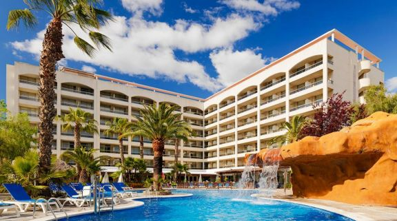 The H10 Salou Princess's picturesque hotel in pleasing Costa Dorada.