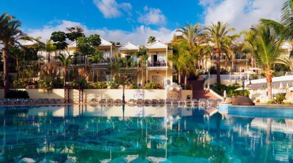 View Gran Oasis Resort's impressive main pool in sensational Tenerife.