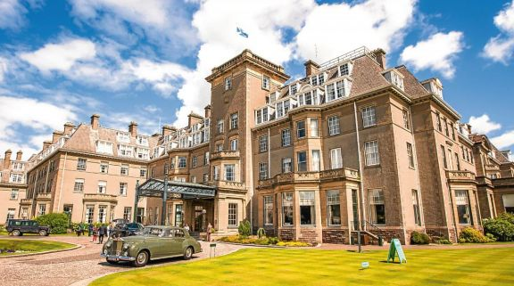 View Gleneagles's picturesque hotel in astounding Scotland.