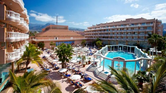 The Cleopatra Palace Hotel - Playa de Las Americas's impressive hotel within astounding Tenerife.