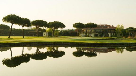 The Adriatic Golf Club Cervia's impressive golf course in spectacular Northern Italy.