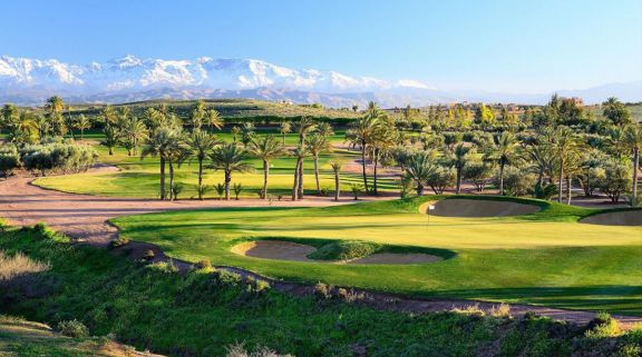 The Al Maaden Golf Course's impressive golf course within brilliant Morocco.