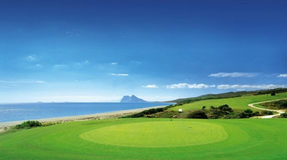 View Alcaidesa Heathland Course's beautiful golf course in vibrant Costa Del Sol.