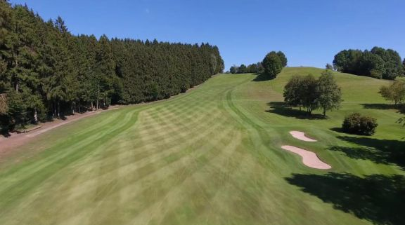 The Lederbach Golf Course's scenic golf course situated in marvelous Germany.