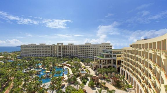The Sheraton Sanya Haitang Bay Resort's picturesque hotel within gorgeous China.