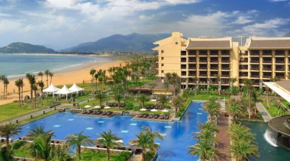 The Sheraton Shenzhou Peninsula Resort's scenic hotel situated in marvelous China.