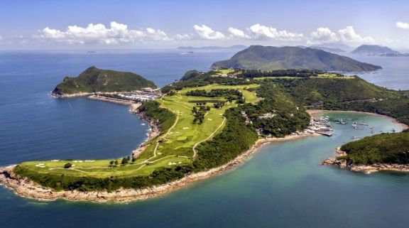 View Clearwater Bay Golf  Country Club's lovely golf course in brilliant China.