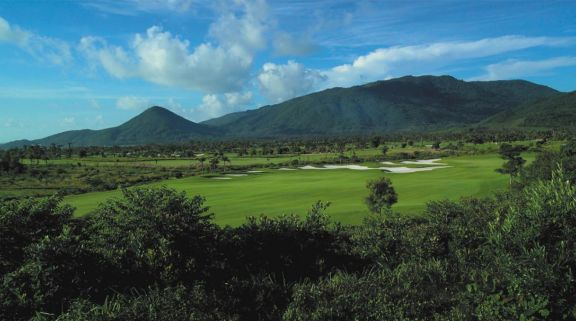 The Sun Valley Sanya Golf Course's impressive golf course situated in stunning China.