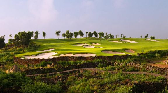 View Mission Hills Golf Club's beautiful golf course within spectacular China.