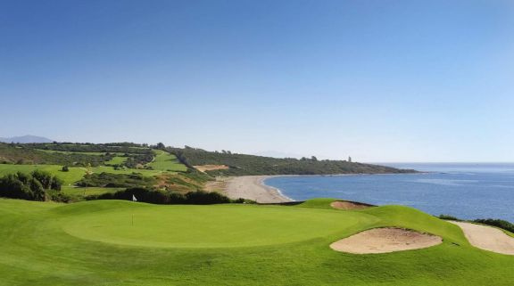 View Alcaidesa Links Course's impressive golf course situated in incredible Costa Del Sol.