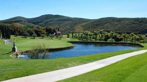 The Alferini Course at Villa Padierna's beautiful golf course in brilliant Costa Del Sol.