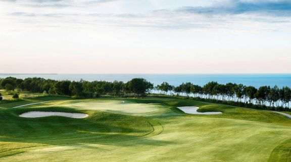 The Lighthouse Golf Clubs beautiful golf course within brilliant Black Sea Coast.