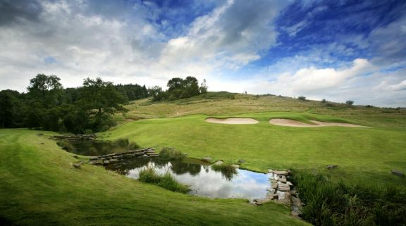 The Celtic Manor Resort Golf's beautiful golf course situated in faultless Wales.