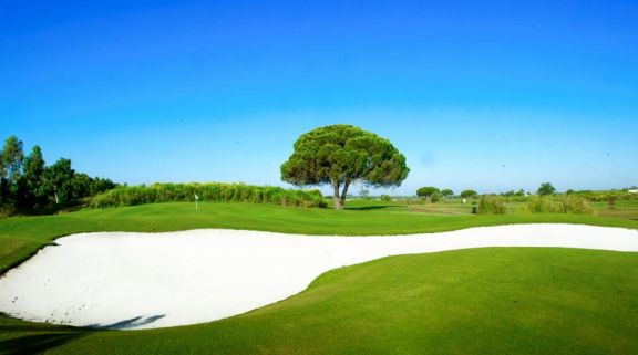 The Golf La Estancia's scenic golf course within dazzling Costa de la Luz.