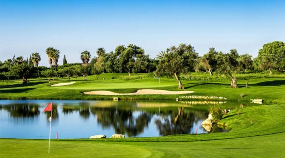 The Quinta de Cima Golf Club's picturesque gardens within astounding Algarve.