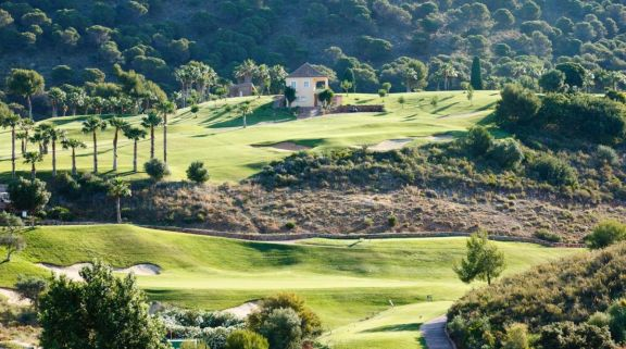 The Alhaurin Golf Course's beautiful golf course situated in spectacular Costa Del Sol.