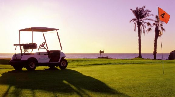 The Amarilla Golf and Country Club's picturesque golf course in gorgeous Tenerife.