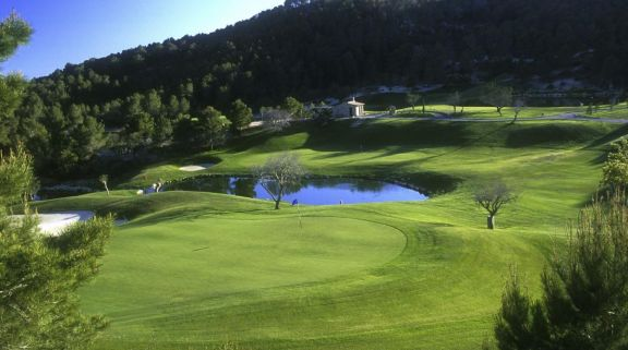 View Andratx Golf Course - Camp de Mar's lovely golf course in magnificent Mallorca.