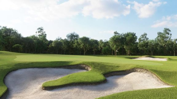 View Bangpra Golf Club's lovely golf course situated in amazing Pattaya.