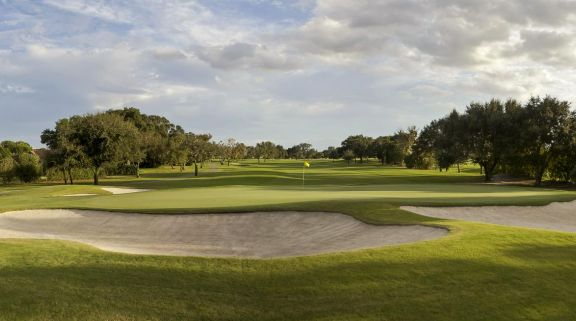 The Bay Hill Golf Club's scenic golf course situated in marvelous Florida.