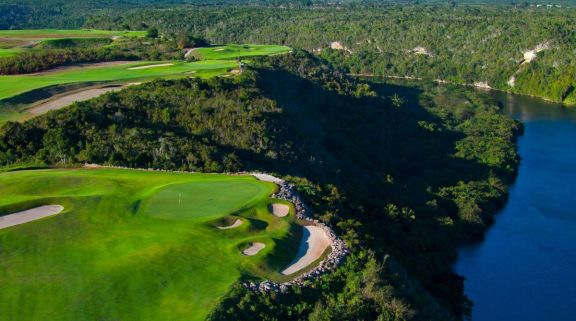 View Casa De Campo Golf - Dye Fore Course's impressive golf course situated in incredible Dominican