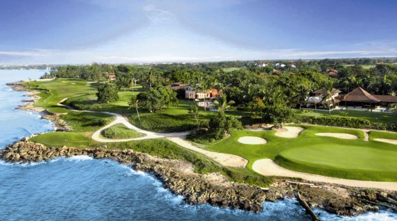 The Casa De Campo Golf - Teeth of the Dog Course's impressive golf course situated in striking Domin