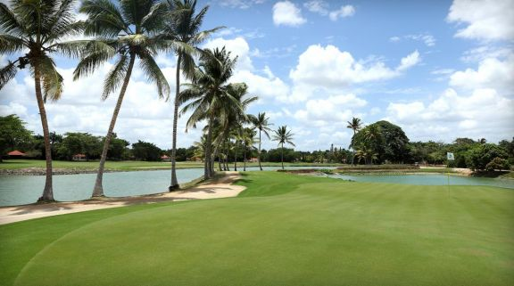 The Casa De Campo Golf - The Links Course's lovely golf course within brilliant Dominican Republic.