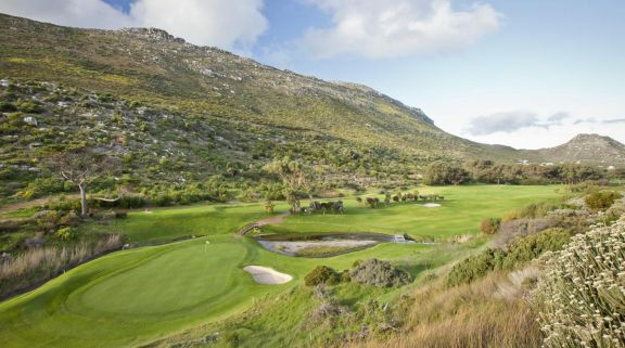 The Clovelly Country Club's lovely golf course situated in marvelous South Africa.
