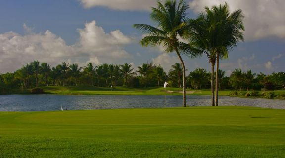 The Cocotal Golf and Country Club's picturesque golf course in pleasing Dominican Republic.