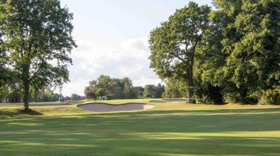 The Copt Heath Golf Club's lovely golf course within brilliant West Midlands.