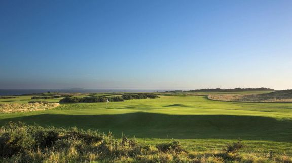 The Crail Golfing Society's scenic golf course within breathtaking Scotland.