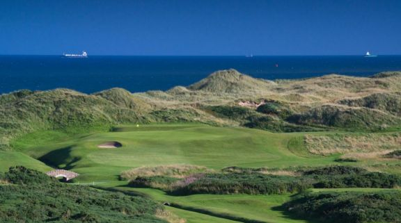The Cruden Bay Golf Course's beautiful golf course in magnificent Scotland.