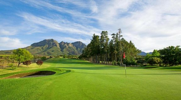 The Erinvale Golf Club's beautiful golf course situated in faultless South Africa.