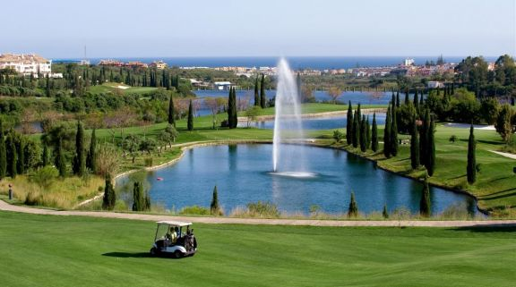 View Flamingos Course - Villa Padierna's scenic golf course situated in stunning Costa Del Sol.