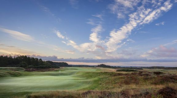 The Gailes Links's impressive golf course in incredible Scotland.