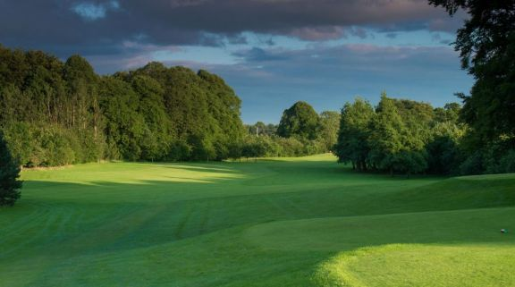 The Galgorm Castle Golf Club's picturesque golf course in dazzling Northern Ireland.