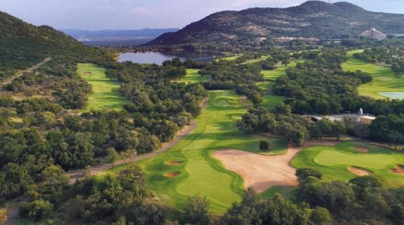 View Gary Player Country Club's beautiful golf course in striking South Africa.