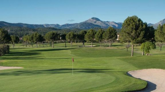 The Golf Santa Ponsa 1's impressive golf course situated in dazzling Mallorca.