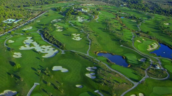 View Golf Son Gual's picturesque golf course within dazzling Mallorca.