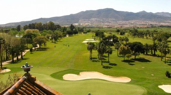 The Guadalhorce Golf Club's scenic golf course within dazzling Costa Del Sol.