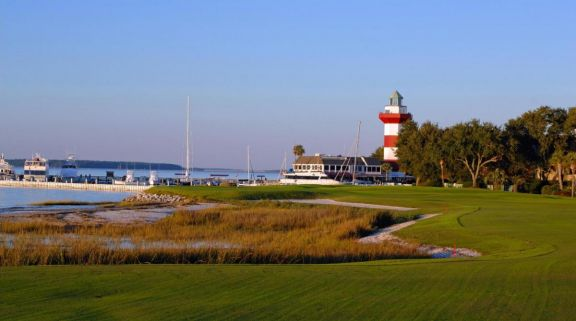 Harbour Town Golf Links's beautiful golf course situated in spectacular South Carolina.