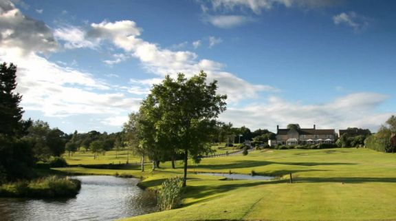 The Horsley Lodge Golf Club's lovely golf course in stunning Derbyshire.