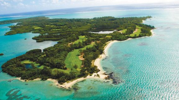 View Ile aux Cerfs Le Touessrok's beautiful golf course within fantastic Mauritius.