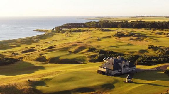 The Kingsbarns Golf Links's beautiful golf course within pleasing Scotland.